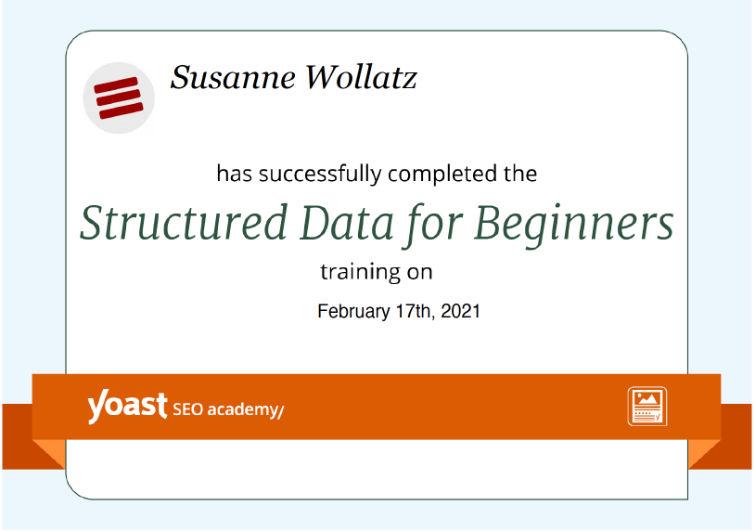 ELBBYTE-Structured data for beginners Certificate